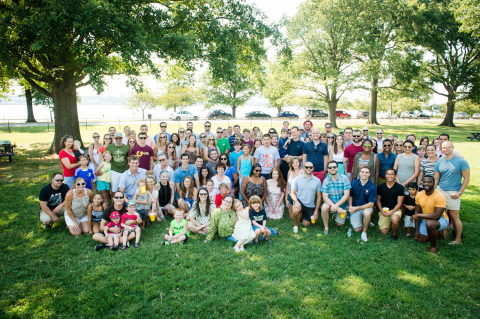 A group of Privia Health Partners at the company's 2015 Summer Picnic. (Photo: Business Wire)