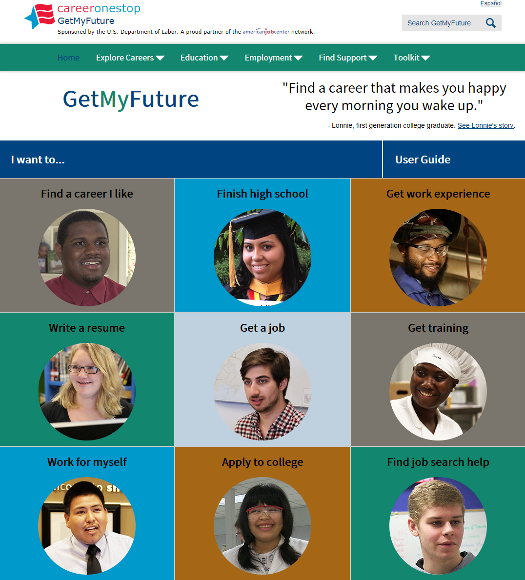 careeronestop launches getmyfuture org business wire full size