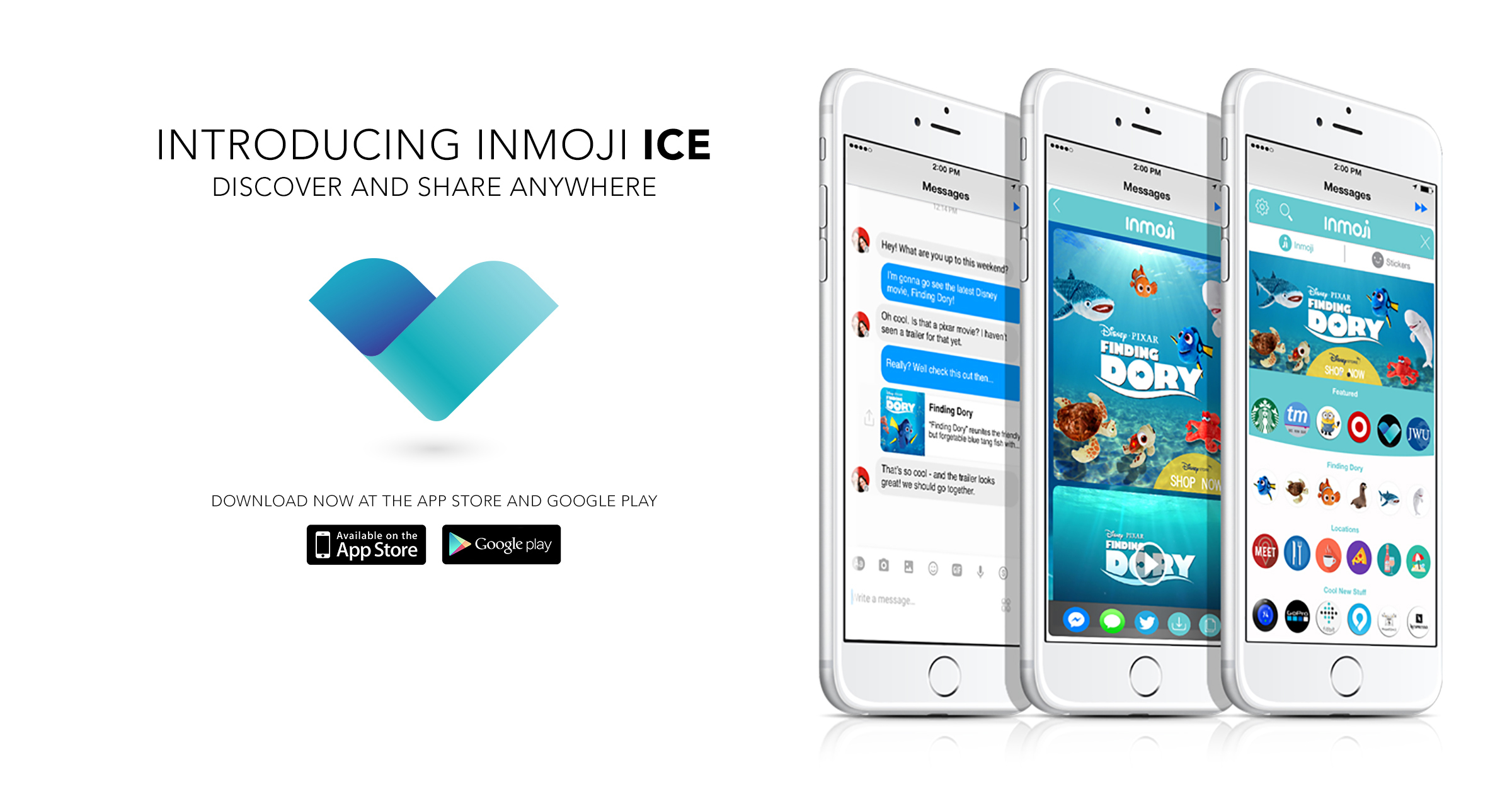 inmoji releases ice application to expand network direct to full size