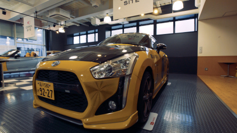 Concept of Effect Skins project: Copen owners will be able to choose from 10 Stratasys ASA 3D printi ...