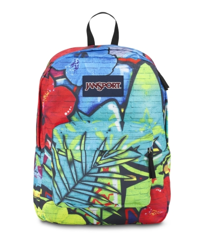 Jansport High Stakes Backpack in Multi Graffiti (Photo: Business Wire)