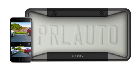 Pearl RearVision camera frame and in-app experience. (Photo: Business Wire)