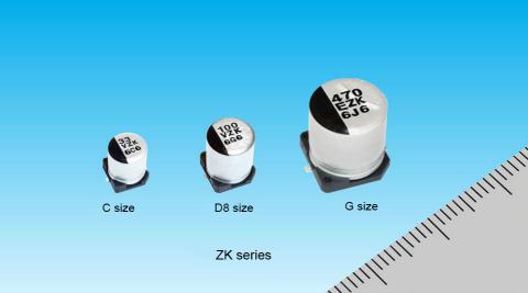 導電性高分子ハイブリッドアルミ電解コンデンサ(写真:ビジネスワイヤ)