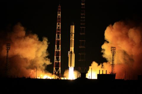 SES-5 is one of the satellites serving the satellite TV market across Africa (Credit: ILS Internatio ...