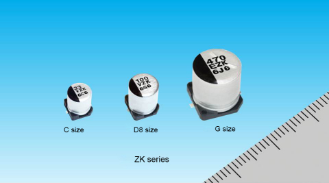 Conductive Polymer Hybrid Aluminum Electrolytic Capacitors (Photo: Business Wire)