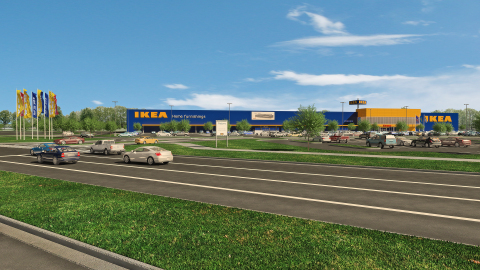 IKEA continues expansion into Southeastern U.S. with plans to open Hampton Roads store Summer 2018 in Norfolk, VA (Photo: Business Wire)