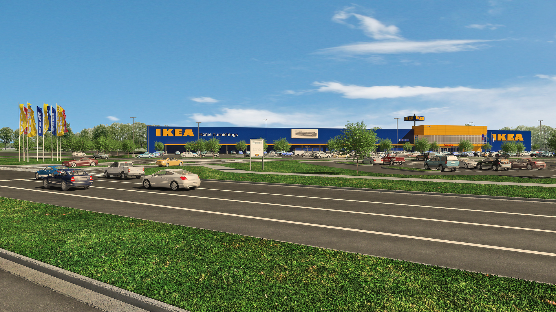 Ikea continues expansion into southeastern u s with plans for Ikea conshohocken pennsylvania