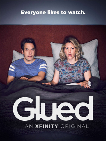 Xfinity today launched Glued, the brand's first ever original web series. (Graphic: Business Wire)