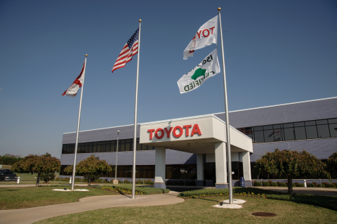 2015 Toyota Motor Manufacturing Alabama (TMMAL) - Exterior (Photo: Business Wire)