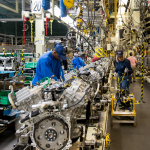 Toyota Motor Manufacturing Alabama (TMMAL) - V6 line (Photo: Business Wire)