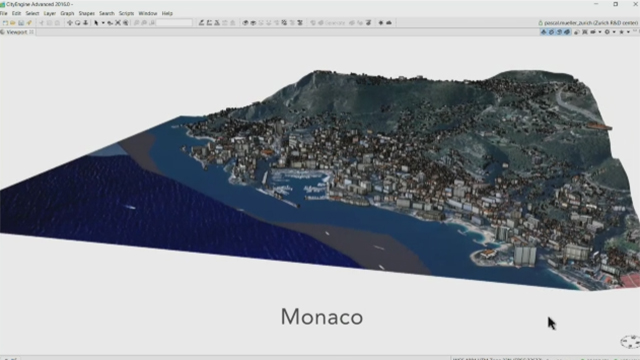 See how Esri CityEngine 2016 can build smart 3D cities in minutes versus hours/days. (Graphic: Business Wire)
