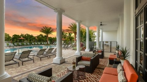 Pool at Palm Ranch by Richman Signature Properties in Davie, Fla. (Photo: Business Wire)