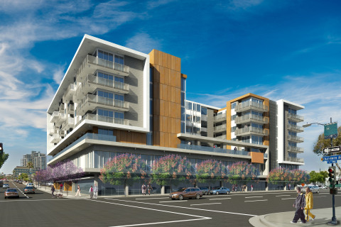 Exterior rendering of F11 by Richman Signature Properties in San Diego, Ca. (Photo: Business Wire)