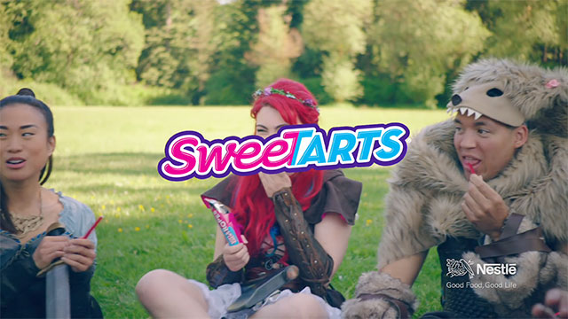 "SweeTARTS ""Follow Your TART"" anthem video featuring Troye Sivan, SeaNanners (Adam Montoya) and Momo O'Brien"