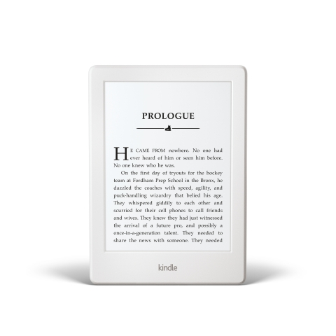 All-new Kindle in white (Photo: Business Wire)