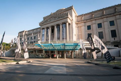 The Brooklyn Museum hosted the US Debut of the Mandela Poster Project on June 21. Sponsored by Kalahari Resorts and Conventions, the compilation of 95 posters celebrate the life, spirit, and impact of Nelson Mandela. (Photo: Business Wire)