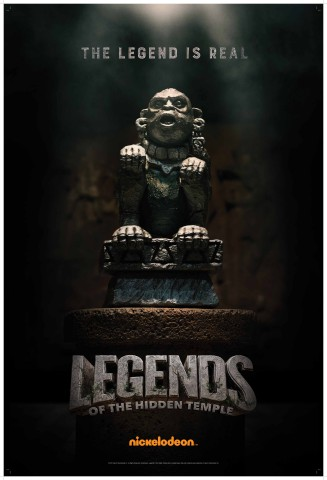 Shrine of the Silver Monkey - 'Legends of the Hidden Temple' Movie Poster (Photo: Nickelodeon)