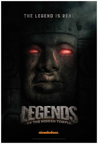 Legendary Olmec - 'Legends of the Hidden Temple' Movie Poster (Photo: Nickelodeon)