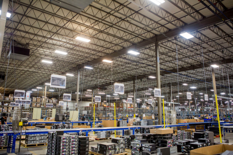 Arrow showcased state-of-the-art upgrades at its flagship 400,000 sq. ft. value recovery processing facility in Ohio--one of the largest of its kind in the world. (Photo: Business Wire)