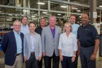 Arrow executives, including CEO Mike Long, were on hand to celebrate the new facility upgrades with customers and staff. (Photo: Business Wire)
