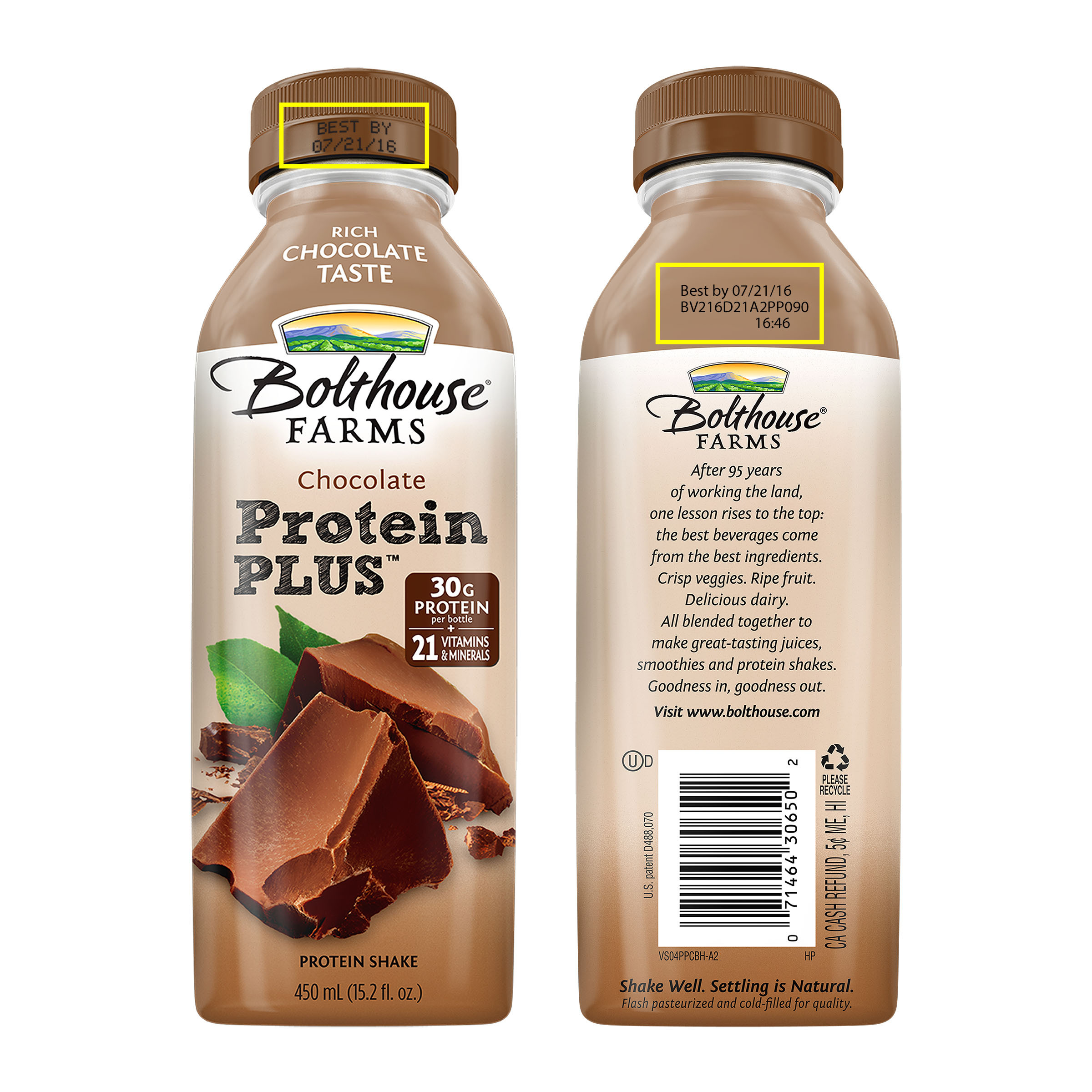 Bolthouse Farms Voluntarily Recalls Protein Beverages Due to ...