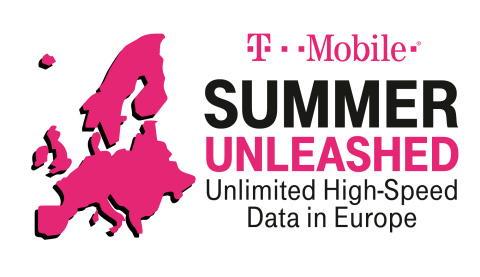 The Un-carrier takes the worry out of summer travel to the No. 1 overseas destination, with unlimited high-speed data across all of Europe all summer long—at absolutely no extra cost. (Graphic: Business Wire)