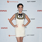 Katy Perry at the #StaplesForStudents press conference. (Photo: Business Wire)