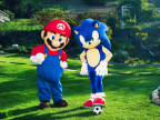 Nintendo Encourages Families to Get Active and Celebrate the Launch of Mario & Sonic at the Rio 2016 Olympic Games (Photo: Business Wire)