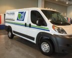 Ram ProMaster recently converted to propane autogas seen at recent Government Fleet Expo in Nashville  (Photo: Business Wire)