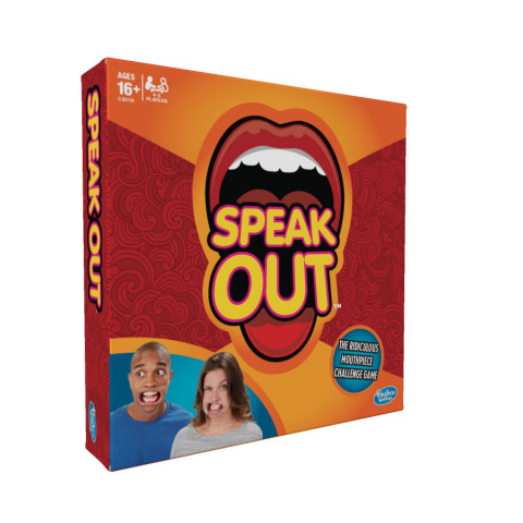 Hasbro Brings Mouth Piece Challenge to the Masses with New SPEAK OUT Game (Photo: Business Wire).