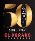 El Dorado Furniture's 50th Anniversary Logo for 2017 (Graphic: Business Wire)