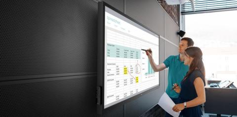 Dell 70-inch Interactive Conference Room Monitor (Photo: Business Wire)