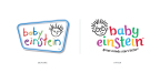 Baby Einstein logo, before and after. (Graphic: Business Wire)
