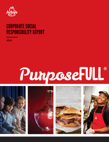 Arby's First Corporate Social Responsibility Report (Photo: Business Wire)