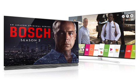 Dolby Vision content from Amazon Video available to Dolby Vision enabled LG OLED and LG Super UHD TV Customers (Photo: Business Wire)