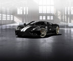The all-new 2017 Ford GT will be available in a limited-edition Heritage theme honoring the GT40 Mark II driven to victory by Bruce McLaren and Chris Amon at Le Mans in 1966 - part of the historic 1-2-3 Ford GT sweep. (Photo: Business Wire)