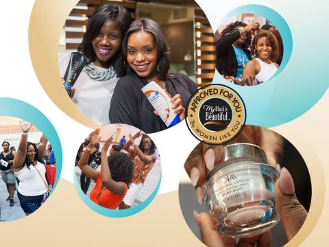 Join My Black is Beautiful, Official Sponsor of the Beauty & Style Expo at Essence Festival in New Orleans (Graphic: Business Wire)
