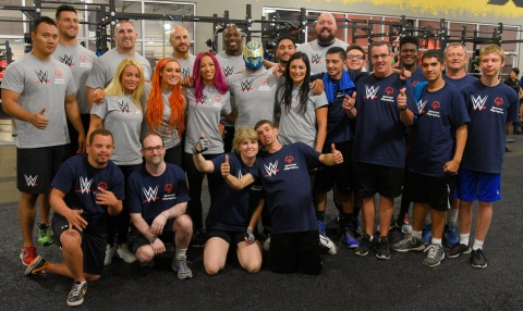 Special Olympics and WWE (Photo: Business Wire)