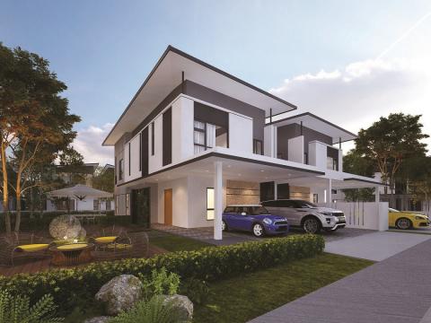 Tropicana AMAN Cheria Residences_Semi-Detached Homes (Photo: Business Wire)