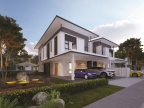 Tropicana AMAN Cheria Residences_Semi-Detached Homes (Photo: Business Wire)