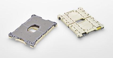 TE's LGA 3647 socket meets the next-generation design requirements of Intel's latest CPU processors  ...