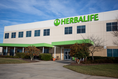 Herbalife Innovation and Manufacturing Facility in Winston-Salem, North Carolina. (Photo: Business W ...