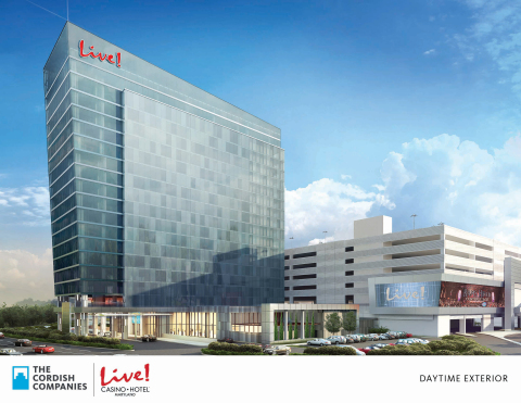 The Cordish Cos. is building a new 17-story, 310-room hotel and event center at its Maryland Live Ca ...