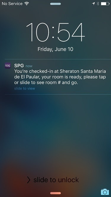 SPG is also expanding mobile check-in capabilities on the SPG app, rolling out over the next few months. SPG Keyless provides a streamlined check-in process custom-made for SPG Members' on-the-go travel needs. (Photo: Business Wire)