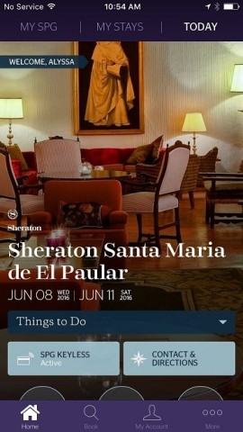 SPG Keyless expands to select properties at additional brands. Guests can utilize SPG Keyless and view stay information through the SPG app. (Photo: Business Wire)