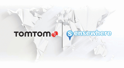 TomTom and sensewhere Team Up to Bring Location Based Services Indoors (Photo: Business Wire)