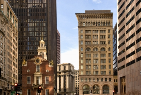 Hilton Worldwide Announces Signing of Historic Ames Boston Hotel to Curio – A Collection by Hilton™ (Photo: Business Wire)