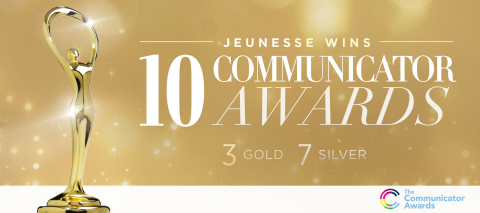 The Academy of Interactive and Visual Arts honors Jeunesse in 22nd annual Communicator Awards (Photo: Business Wire)