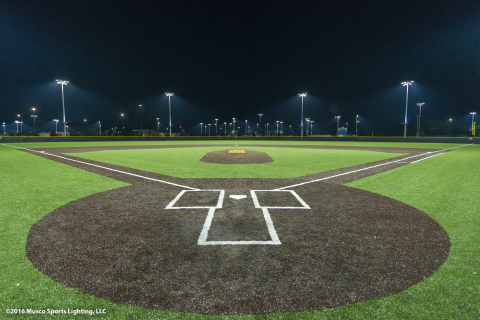 Musco's LED system sets a new standard for player visibility and energy efficiency. (Photo: Business Wire)