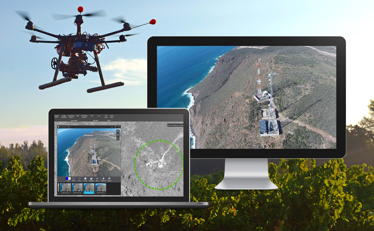 Drone2map 10 for arcgis now available business wire esri karen richardson 909 793 2853 extension 1 3491 sciox Gallery